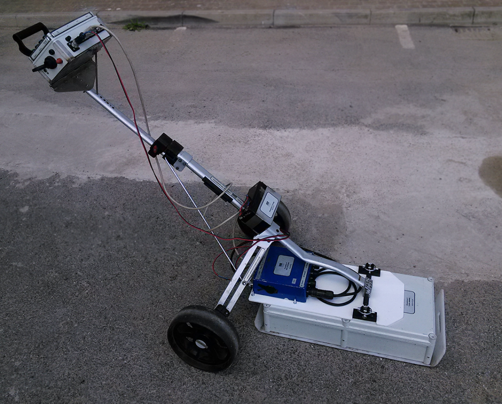 The GPR of the Crew 2 (400 MHz)